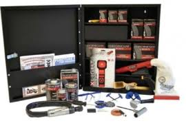 Professional Tire Repair Cabinet Assortment