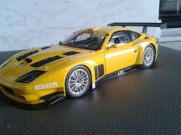 Launched in 2002, it is essentially an updated 550 maranello featuring minor styling changes from pininfarina. Ferrari 575 Gtc Evoluzione 1 18 Mint Condition 468596592