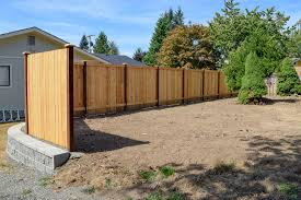 rear view fence retaining wall rear view fence retaining wall