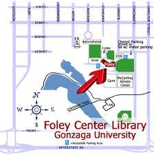 campus map gonzaga university Gonzaga Map Spokane foley's corner of gu campus gonzaga campus map spokane
