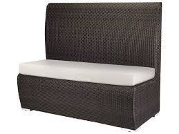 Source outdoor furniture Dining Patioliving Source Outdoor Furniture Boca Wicker Booth Chair Scsc2015166