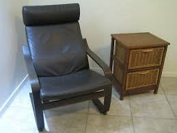 ikea poang chair leather gumtree