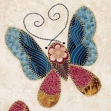 Best 25+ Butterfly quilt pattern ideas on Pinterest | Butterfly ... & China Blue applique Butterfly, this would be a good pattern on my crazy  quilt Adamdwight.com
