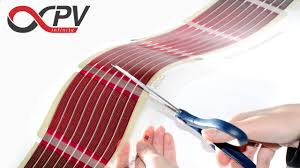 infinitypv foil printed organic solar cells cutting electrical contacting diy