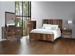 International Furniture Direct Taos Queen Bedroom Group - Dunk & Bright  Furniture - Bedroom Groups