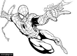 Small Picture Spiderman Coloring Pages eColoringPagecom Printable Coloring Pages