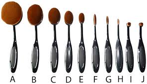 new professional oval brush set make up brush contour brush toothbrush rose gold black or black gold uk seller free next day delivery rose gold