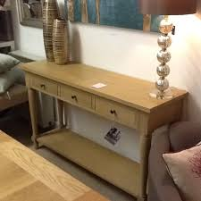 neptune henley console table ex display