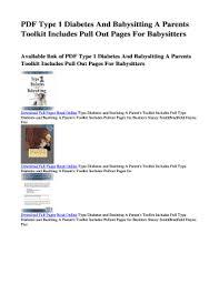 Babysitters Online Free Babysitting Handbook Online Free Edit Fill Out Print Download