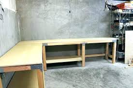 Garage Workbench Plans And Patterns Mesmerizing Garage Work Benches Awesome Smart And Helpful Workbench Plans Idea