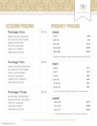 Pricing Template 330 Customizable Design Templates For Price List Postermywall