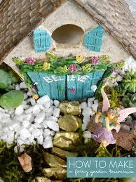 how to make a fairy garden terrarium