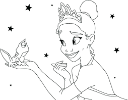 Disney Princess Printable Coloring Pages All Princess Pictures To