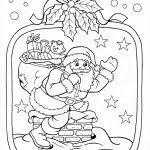 20 Idee Kerstman Rendier Kleurplaat Win Charles