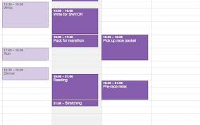 Travel Schedule Avoid The Stress Of Over Scheduling With 10 Smart Google Calendar Tips