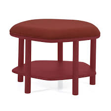 abel pouf coffee table s bordeaux