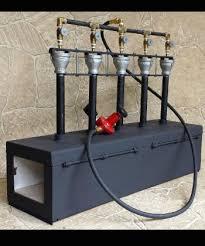 gas forge. 5 burner knifemaker deluxe image gas forge