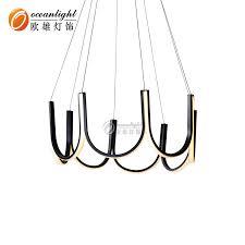 <b>China Modern</b> LED Wave Shape Indoor Use <b>Chandelier Lighting</b> ...