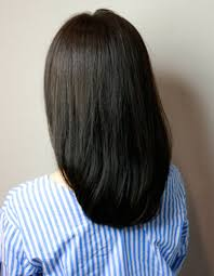 有村架純さん風の暗髪セミディhi 331 ヘアカタログ髪型ヘア