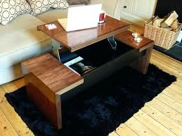 top lifting coffee table awesome top popular coffee table with lift up property remodel aida storage