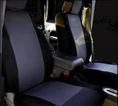 rampage jeep wrangler rampage custom fit neoprene seat cover front pair black