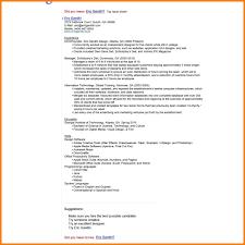 5 Google Resume Format Pear Tree Digital