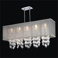 rectangular capiz shell chandelier omni 627km44sp t 3c
