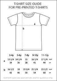Size Charts Dot Kids Ltd