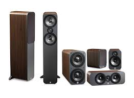 home theater speakers. q acoustics 3050 cinema home theater speaker 5.1ch - walnut   lazada indonesia speakers a