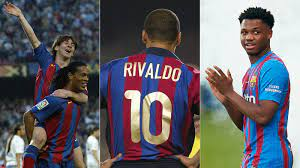 Vor Ansu Fati und Messi: Sie trugen bei Barça die 10 - kicker