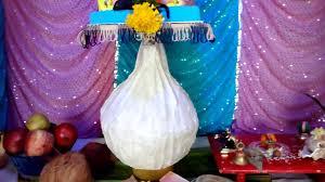 homemade ganpati decoration movable modak