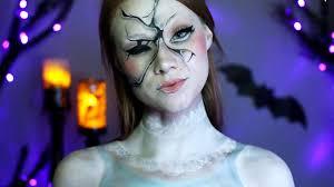 creepy broken doll makeup tutorial