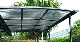 install corrugated plastic roofing roof sheets clear under deck what
