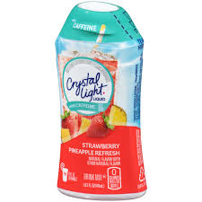 Crystal Light Chewy Candy Crystal Light Liquid With Caffeine Strawberry Pineapple
