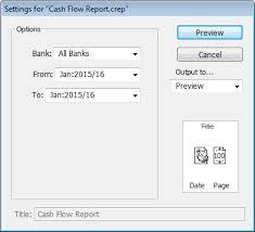 What Is A Cash Flow Report Cash Flow Report