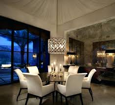 Crystal Chandelier With Shade Kitchen And Dining Room Lighting - Kitchen and dining room lighting ideas
