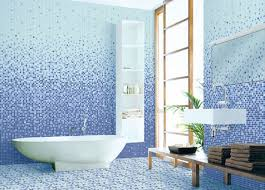 blue bathroom tiles. Classy White Soaking Tub Mixed With Fantastic Bathroom Floor And Wall Tile Plus Fancy Vanity Sets Blue Tiles O