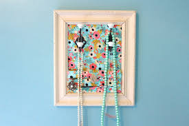 Diy Necklace Holder Diy Jewelry Organizer Youtube