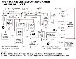 help! need wiring diagram for vx executive series ii just commodores Ve Commodore Wiring Diagram vx stop tail light diagram ve commodore wiring diagram download