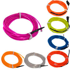 Affordable <b>Led</b> Light El Wire String Strip Rope Battery Powered Size ...
