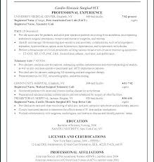 Graduate Nursing Resume Examples New Nursing Resume Objectives For Entry Level Resumes New Graduate Nurse
