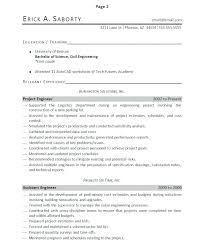 Perfect Resumes Examples The Perfect Resume Template Example Of A ...