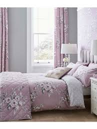 catherine lansfield canterbury bedding collection heather