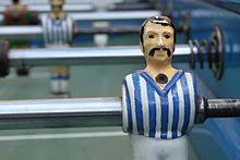 table football. a greek table football player m