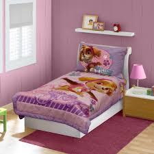 bedding sets by paw patrol paw patrol skye toddler bedding set pink