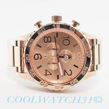 nixon 51 30 chrono all rose gold watch a083 897 083897 rose watch nixon a083897 a083 897 watch mens 51 30 chrono all rose gold extra link