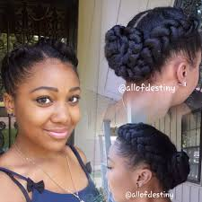 Black Braided Bun Hairstyles Two Braids Into A Low Braided Bun Summer Style By Momma Youtube