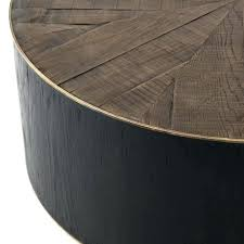 round drum coffee table drum coffee table reclaimed oak round drum coffee table drum coffee table