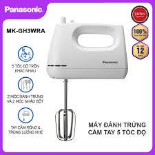 Máy đánh trứng cầm tay 5 tốc độ Panasonic MK-GH3WRA công suất 175W - Hàng  chính hãng bảo hành 12 tháng
