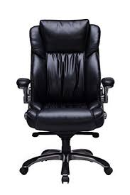 office chair material. Bonded Leather Executive Chair High Back With Flip-Up Arms Office Material